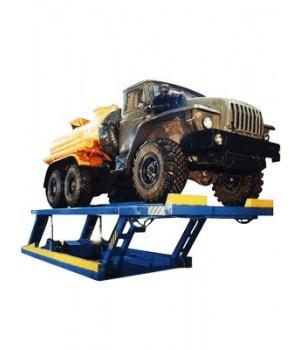 Ножничный платформенный подъемник для грузовых авто ЧЗАО 12Г272М (12т.)