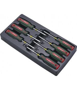 Набор отверток TORX (T10-T40) Hans в ложементе TT-17 (17 предметов)